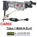 Wiertnica Cardi T 1 MAN-N-EL-41 do wiercenia z ręki na sucho i mokro