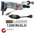 Wiertnica CARDI T 2200 MU-EL-41 do wiercenia z ręki na sucho i mokro