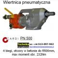 Wiertnica pneumatyczna CARDI PN 500 do betonu i betonu zbrojonego