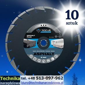 tarcza_diamentowa_do_asfaltu_NOZAR ASFALT PLUS_promocja