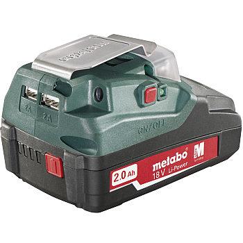 adapter_do_baterii_metabo_bank_energii_PA 14.4-18 LED-USB_1