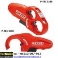 Obcinak do rur plastikowych RIDGID P-TEC 5000 i P-TEC3240