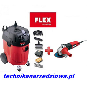 odkurzacz_FLEX S47_szlifierka_katowa_FLEX L800