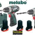 2 x Wiertarko-wkrętarka METABO PowerMaxx BS Basic 10.8V 3xAKU