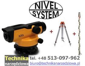 niwelator_optyczny_Nivel System N30x