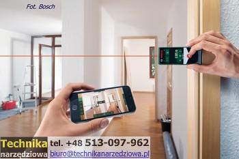 dalmierz_laserowy_ BOSCH PLR 30 C i PLR 50 C z Bluetooth