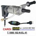 Wiertnica Cardi T 1800 102-N-EL-41 do wiercenia na sucho i mokro