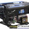Agregaty prądotwórcze SDMO z automatyką i SZR: TECHNIC 7500TE AVR MODYS i TECHNIC 6500E AVR MODYS.